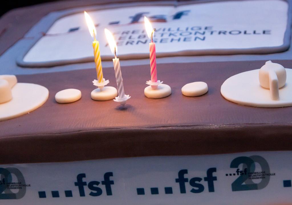 2o-Jahre-FSF-Torte